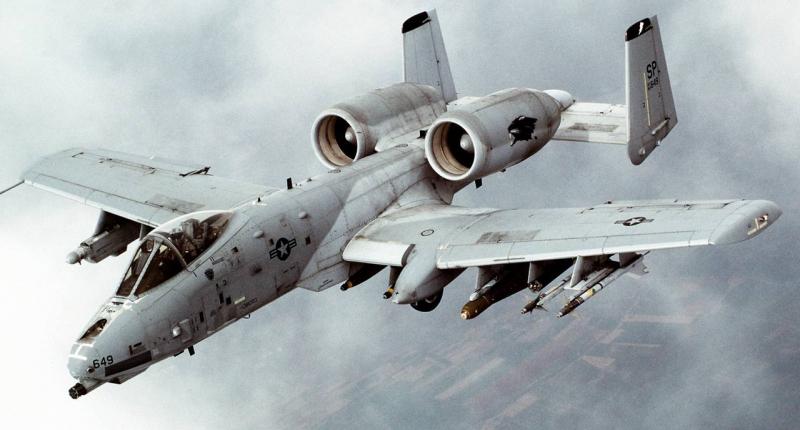 США перебрасывают к границам России «истребителей танков» война, мир, россия, самолеты, сша, танки, украина