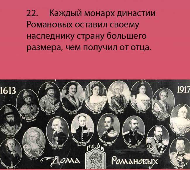 Факты россии интересные о истории