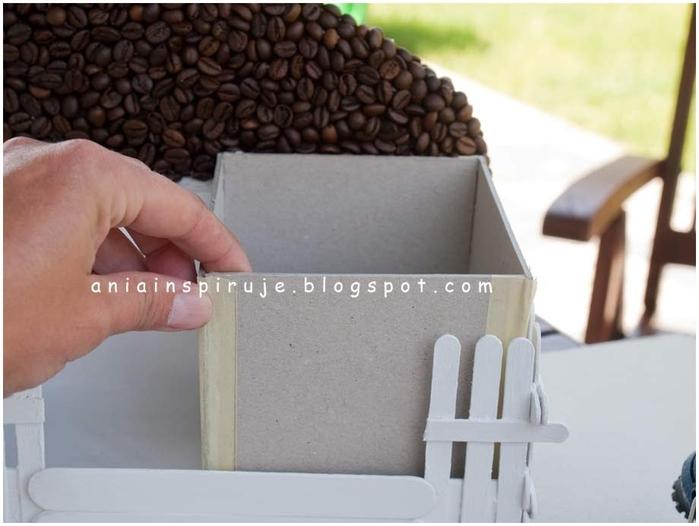 Салфетницы из картона
