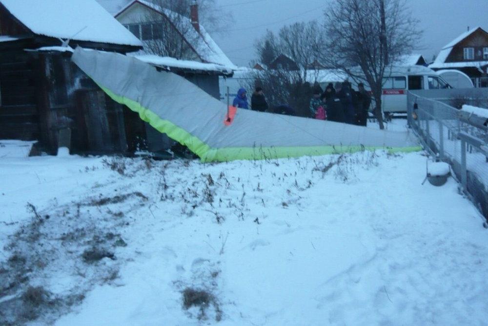 В Свердловской области при крушении мотодельтаплана погиб человек