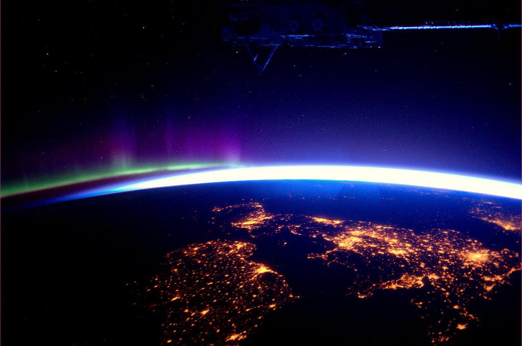 Amazing Space Photography 14 Космос от голландского астронавта Андре Киперса