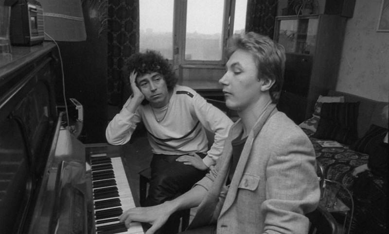 Валерий Леонтьев и Игорь Николаев. 1985 год истоия, ссср, фото