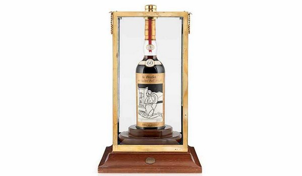 Macallan Valerio Adami 1926 – самое дорогое виски в мире, выставленное на продажу за 1.145.000$
