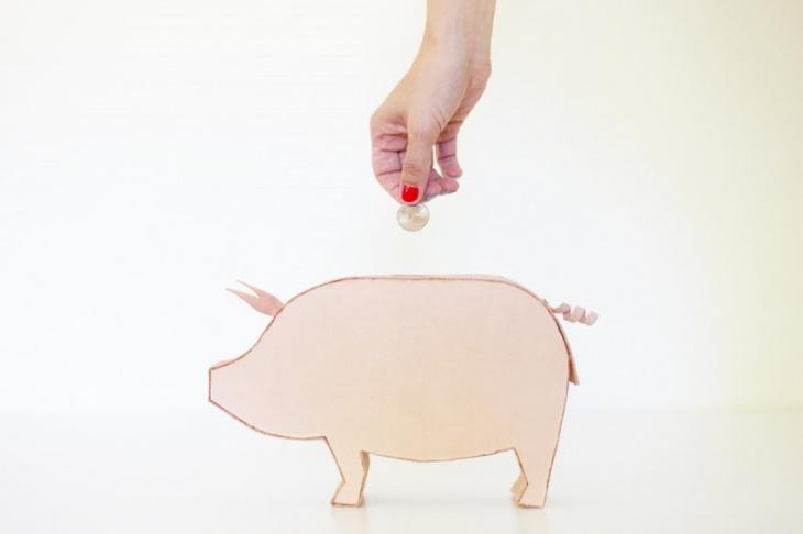 Копилка свинка своими руками (Diy)