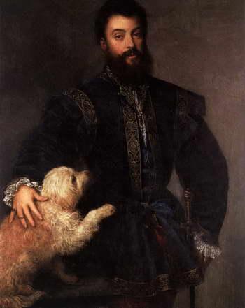 Тициан. Портрет Федерико II Гонзага