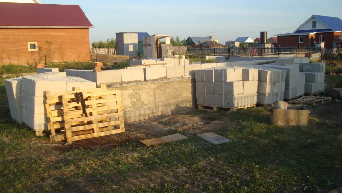 Как построить частный дом, имея строго ограниченный бюджет бюджет, дом, стройка
