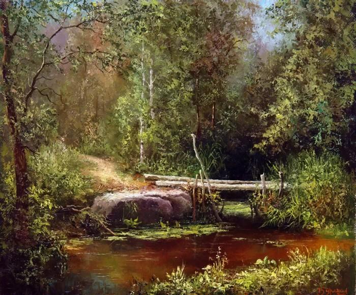 пейзажи Евгений Бурмакин -13