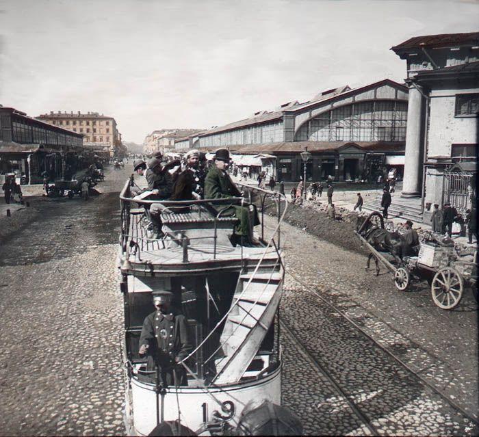 Россия 1896 года: фотографии в цвете Original