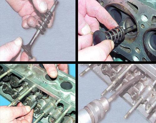 Как правильно сделать притирку клапанов