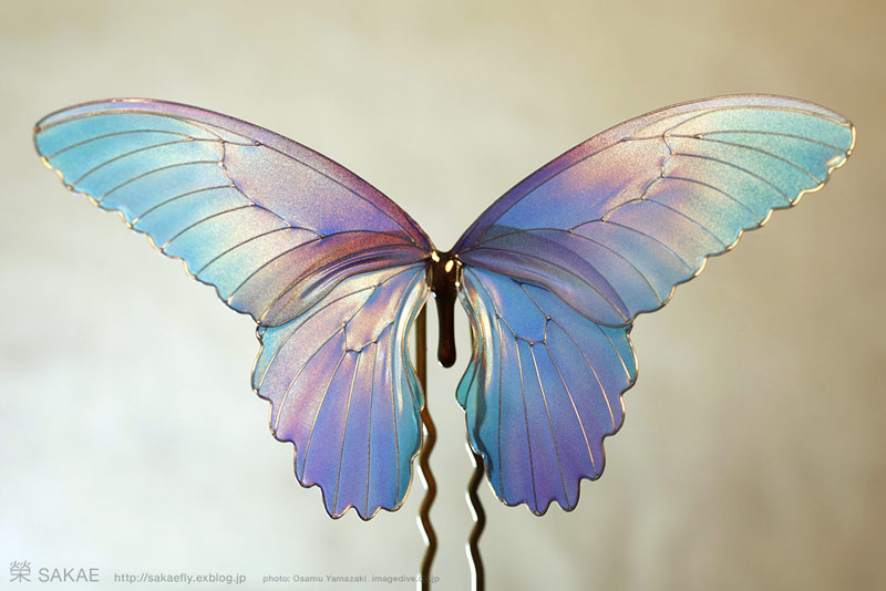 Лепестки и крылья мастера Sakae