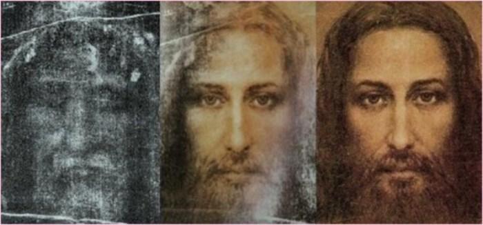 Попытки цифровой обработки изображения на Туринской плащанице