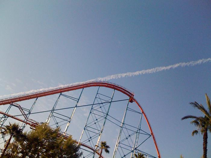 12. Запуск в космос с американской горки момент, фотография