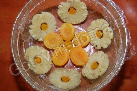 Торт фруктовая горка фото