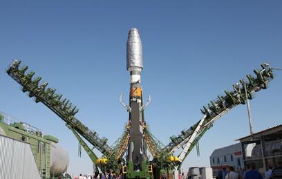 """""""Союз"""" вывел на расчетную орбиту военный спутник"""