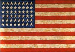 Джаспер Джонс. Флаг