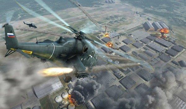 Западные аналитики удивлены: российский Ми-24 просто изрешетил позиции террористов