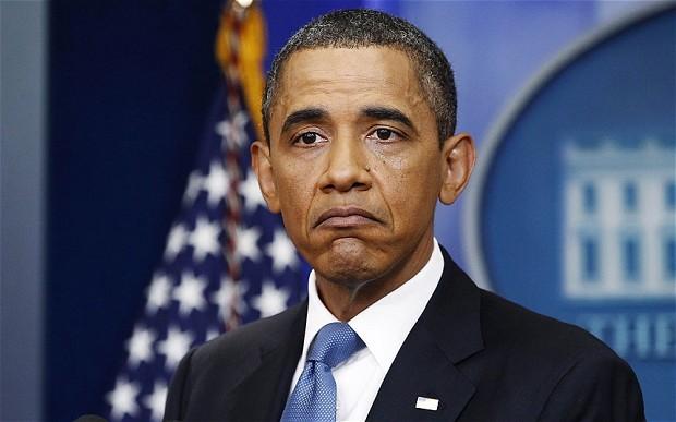 Обама счел хорошей идею оставить его на поле для гольфа на другом конце света