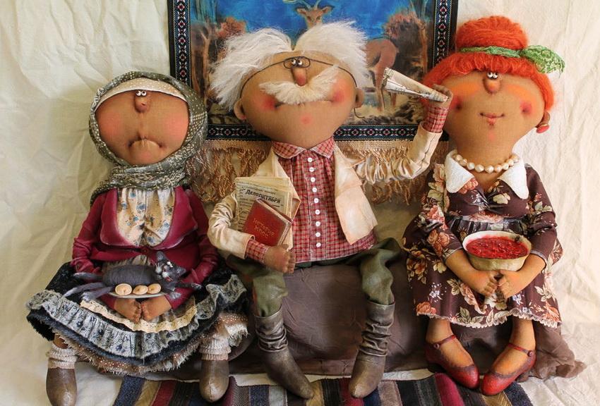 Flextom Выставка мастера авторской куклы Татьяны Козыревой.