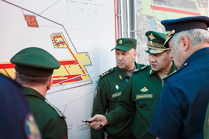 Сергей Шойгу проверяет отдаленные гарнизоны Забайкальского края