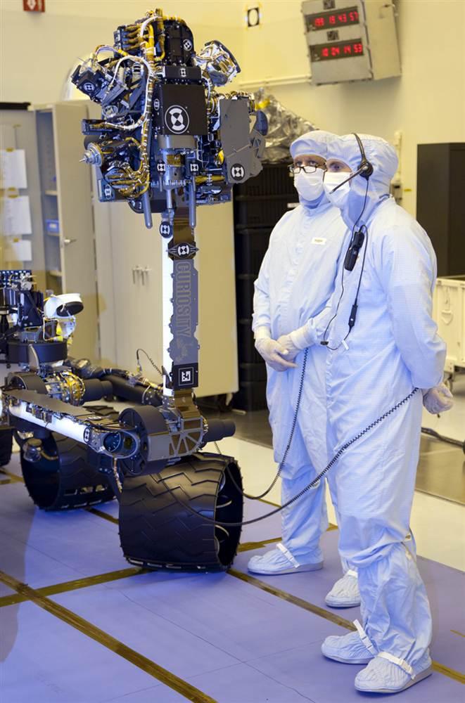 5234 Марсоход Curiosity отправился в полет