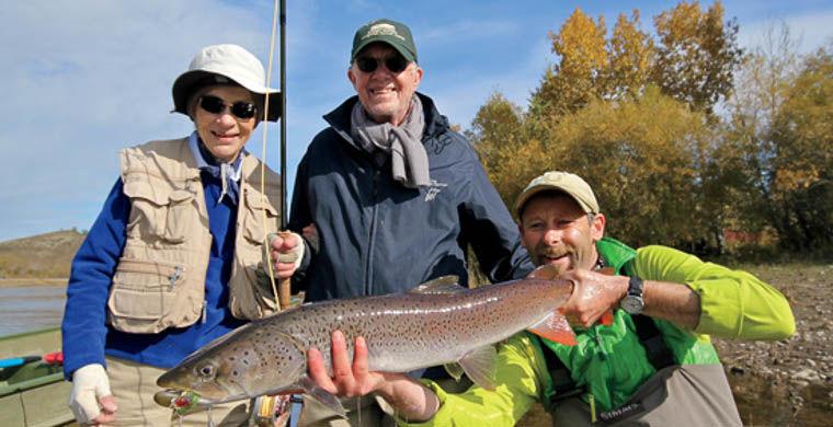 показать рыбалку во  россии