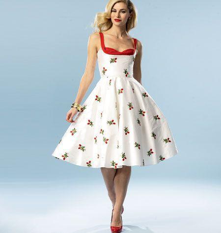 Шьём платье из 60-х
