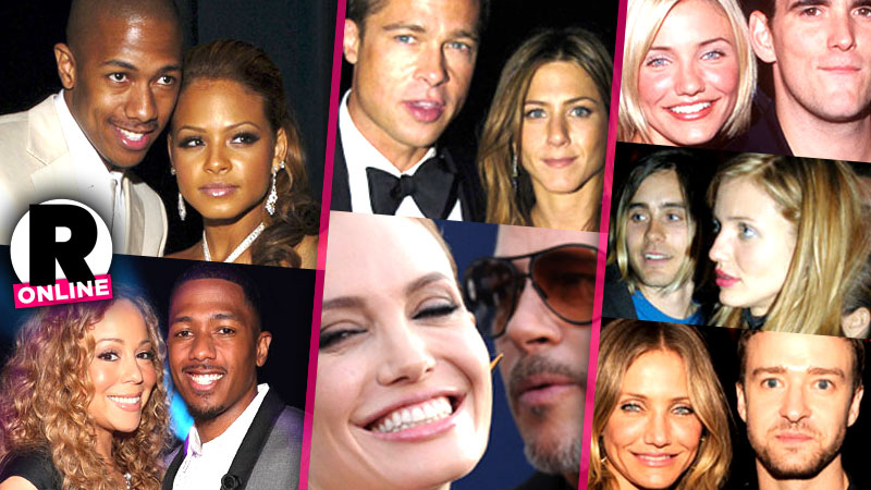 Celeb Love Triangles And Beyond! Stars Who Have Dated The Same Person