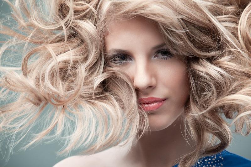 балаяж блонд