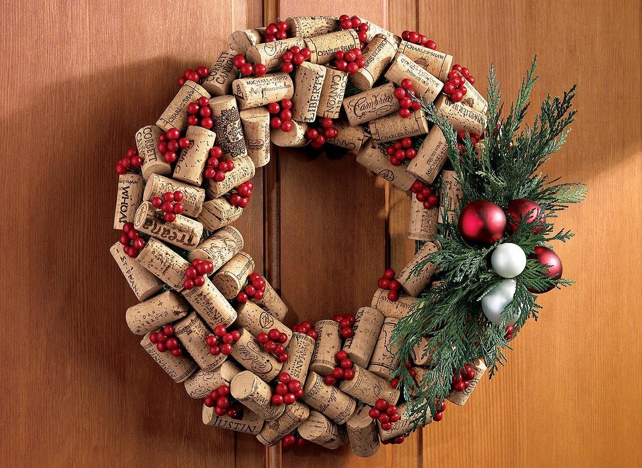 Как сделать новогодние украшение для дома