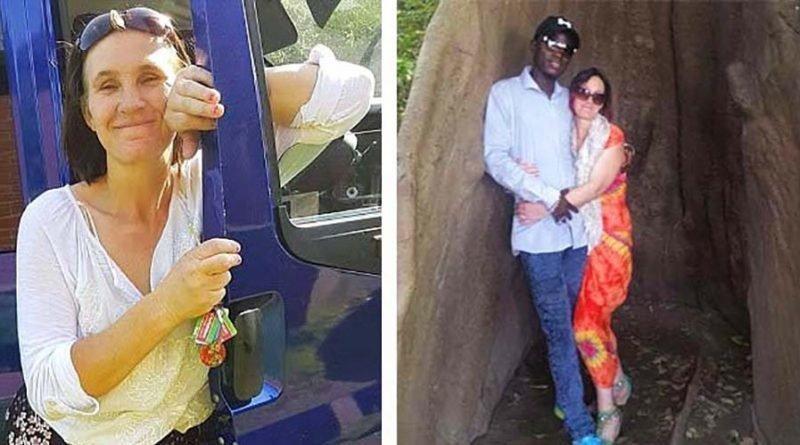 44-летняя женщина бросила семью ради 30-летнего африканца, с которым она познакомилась в Facebook