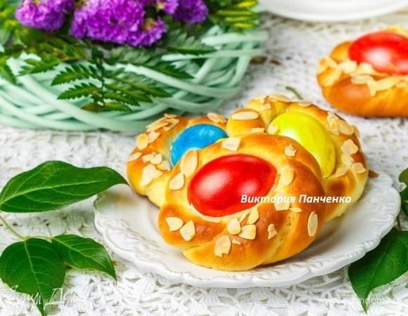Пасхальные лимонные булочки