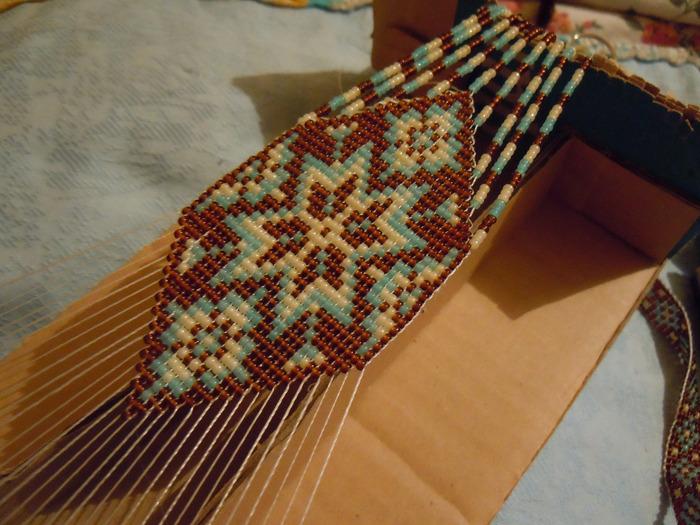 Станок своими руками для ткачества бисером 202