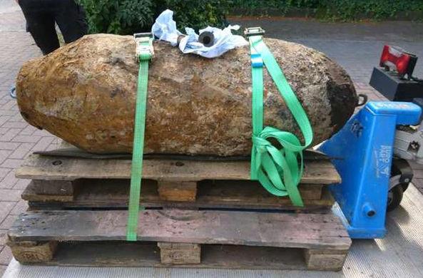 В Германии обезврежена огромная бомба времен Второй мировой войны