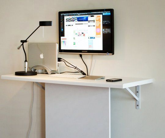 стационарный компьютерный стол своими руками