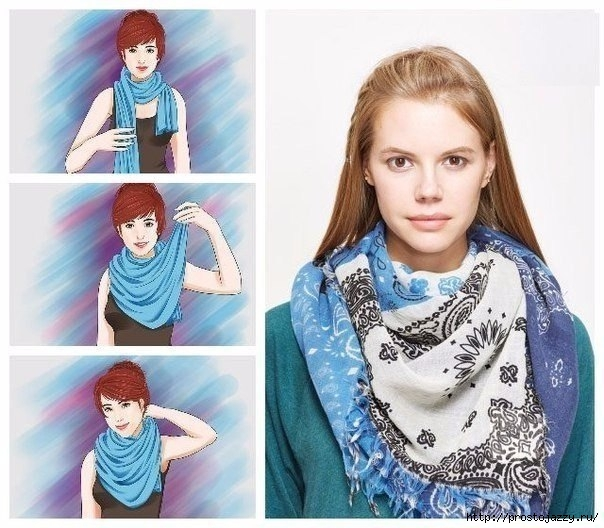 Семь способов носить шарф осенью3 (604x528, 201Kb)