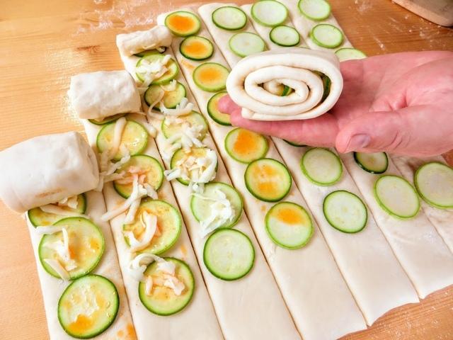 Кабачки вместо хлеба — домашняя выпечка