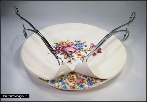 Керамика, раздетая до белья. Арт-проект Бекки Ридсдель (Beccy Ridsdel)