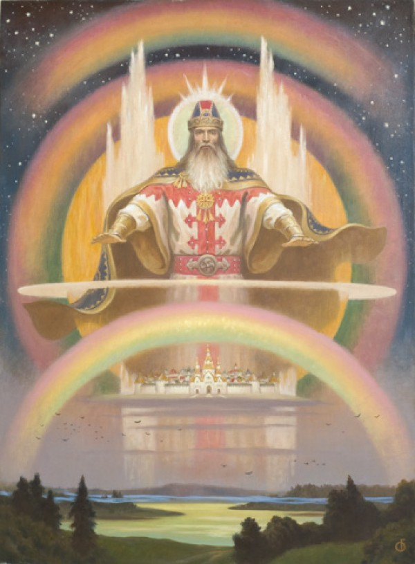МАРС (МАВОРС, МАРСПИТЕР) - Языческие божества Западной Европы