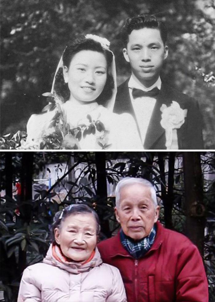 4. Пара пережила трудные времена. Они были разлучены во время войны, но никогда не переставали любить друг друга.