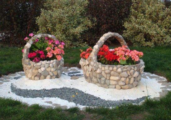 Замок из камня для сада своими руками