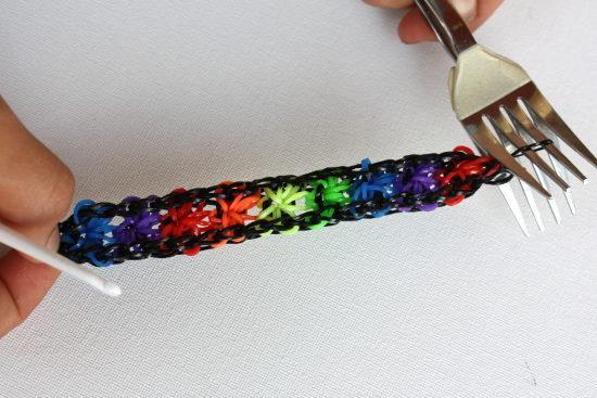 Плетение на вилки фото