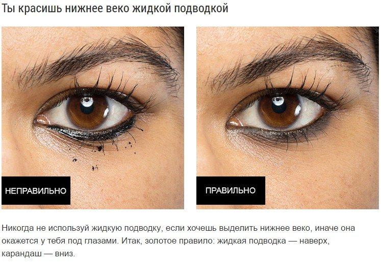 7 хитростей правильно пользоваться подводкой для глаз