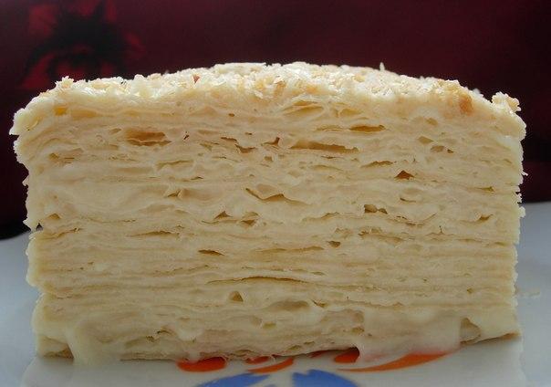 Торт «НАПОЛЕОН» — старинный рецепт! Получается всегда
