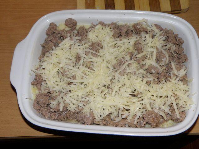 Посыпаем сыром. пошаговое фото приготовления картофельной запеканки с фаршем