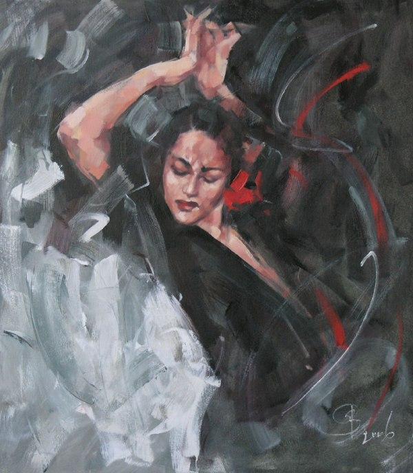Фламенко ночь (600x688,  85Kb)