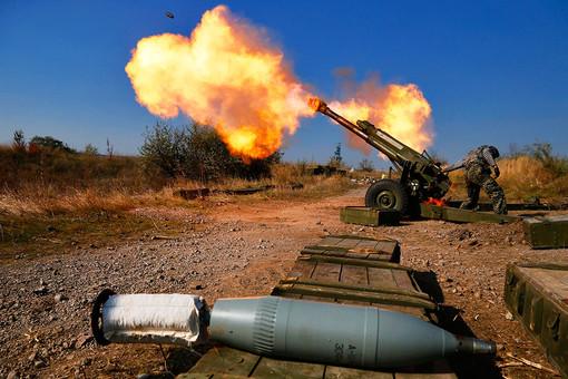 Ополченцев сдвигают к Донецку