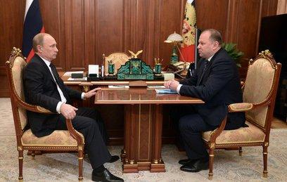 Владимир Путин принял отставку губернатора Калининградской области