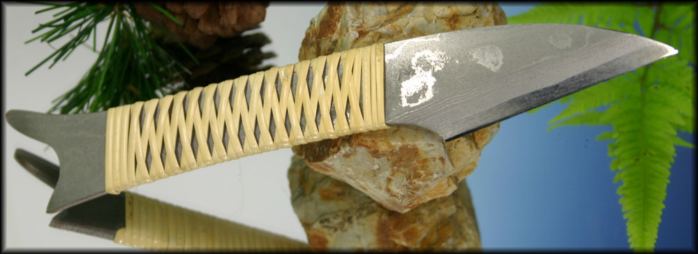 Нож в стиле киридаши