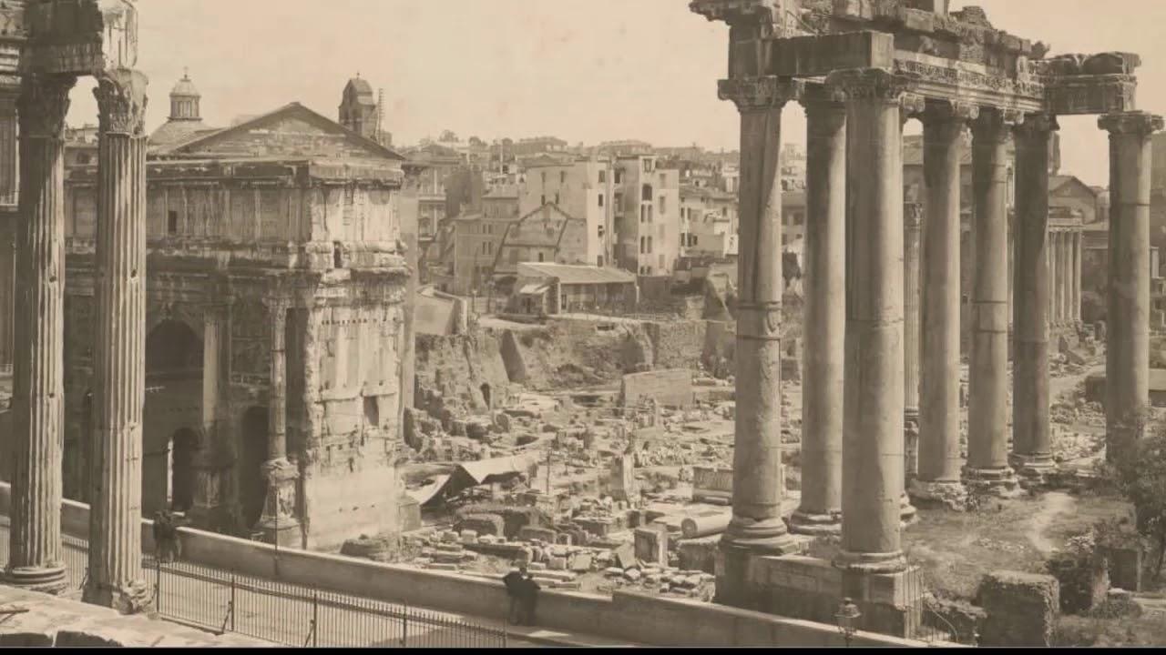Потоп в Риме. Фото раскопок 19-20 веков.