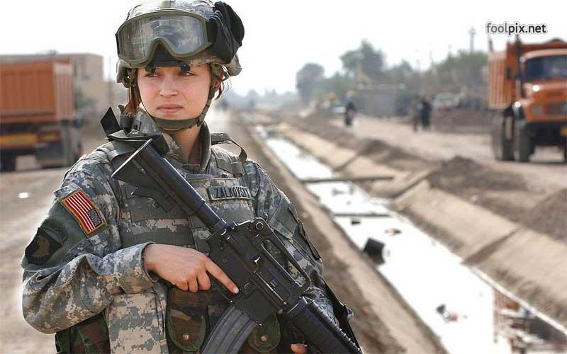 Девушки на службе в армии фото 69